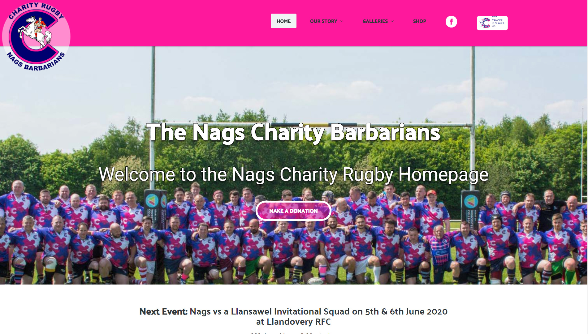 The Nags Charity Barbarians