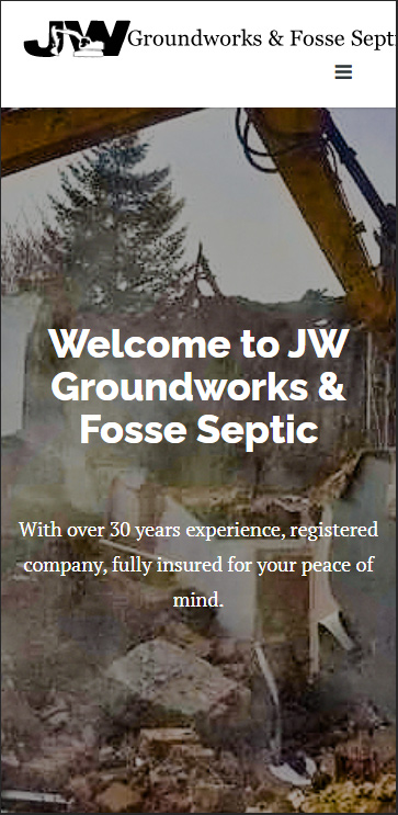 JW Groundworks & Fosse Septic