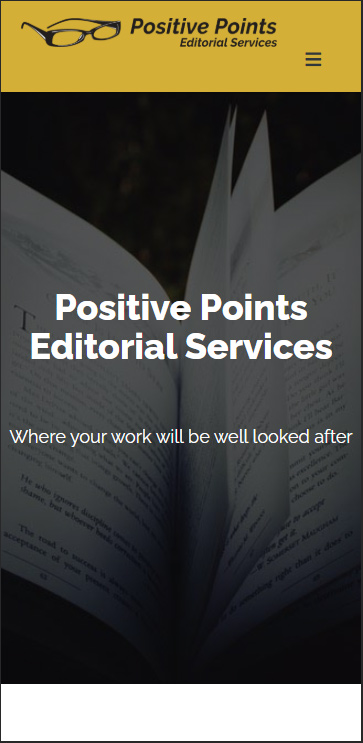 Positive Points Editorial Services